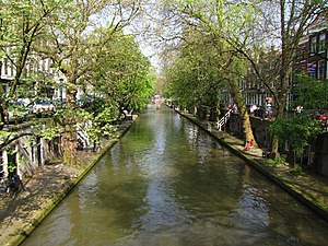English: Oudegracht Utrecht