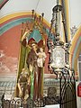 Our Lady of Hungary church, Statue of Saint Anthony, Keszthely 2016 Hungary.jpg