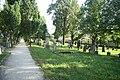 Overview of Cemetery in Velké Meziříčí, Žďár nad Sázavou District.jpg