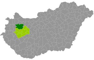 Pápa District Districts of Hungary in Veszprém