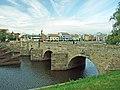 Písek, Kamenný most a nábřeží.JPG