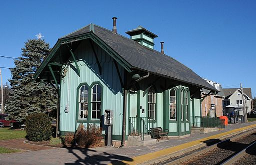 PARK RIDGE STATION, PARK RIDGE, BERGEN COUNTY, NJ