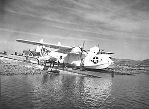 PBM Mariner on slipway at Coast Guard Air Station Salem.jpg