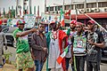 PDP supporters in Wadata plaza, Abuja2.jpg