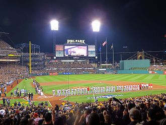 2013 Pittsburgh Pirates season - Pre-game festivities before the October 1 Wild Card game at PNC Park.