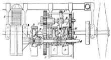 Renault Clio Relay Electrical Diagram further Oil pump  internal  bustion engine likewise File Starter motor diagram as well Hydraulic System Diagram also Manual transmission. on car engine wiki