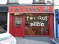 P and L TAXIS, Omagh - geograph.org.uk - 131218.jpg