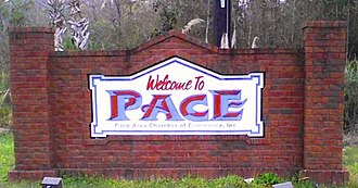 Pace, Florida - Pace Welcome Sign