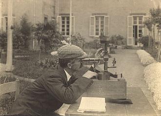 Cosmic ray - Pacini makes a measurement in 1910.