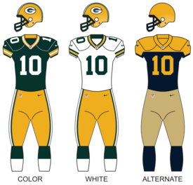 NFL Jerseys - Green Bay Packers - Wikipedia, the free encyclopedia