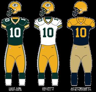 2015 Green Bay Packers season - Image: Packers 2015 uniforms