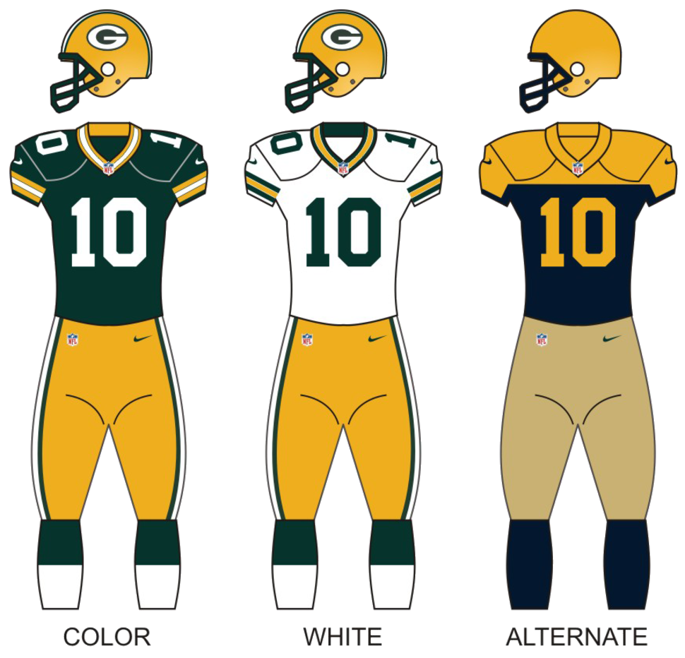 Packers 2015 uniforms
