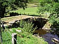 Packhorse bridge over Heltondale Beck - geograph.org.uk - 230077.jpg