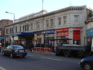 Subsurface station building at London Paddington