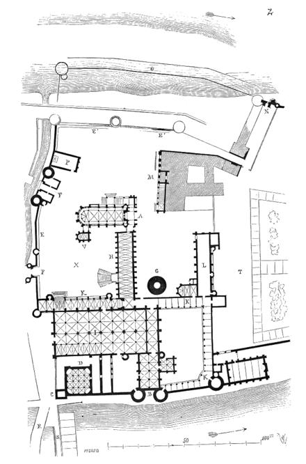 Plan Villa Volta