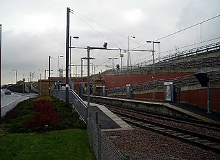 Pallion Metro station Station of the Tyne and Wear Metro