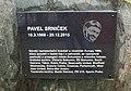 Památník Pavla Srnička na hřišti FK Bospor Bohumín.jpg