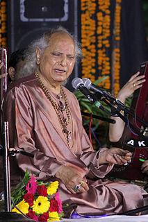 Jasraj Indian classical singer
