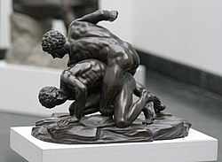 Pankratiasten in fight copy of greek statue 3 century bC.jpg