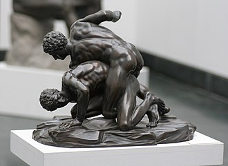 Wrestling - Ancient Greek wrestlers (Pankratiasts)