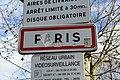 Panneau entrée Paris depuis route Suresnes Paris 3.jpg