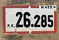 Panonceau PK 26,285 Route N433 Route Pont Veyle Replonges 3.jpg