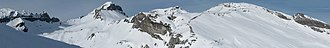 Fil de Cassons - Image: Panorama Laax