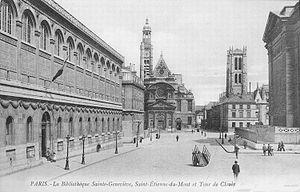 Place du Panthéon - Image: Pantheon Carte postale 2
