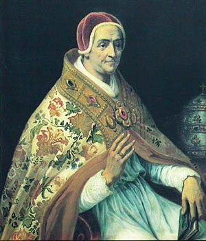 Antipope Clement VII - Modern portrait of Clemens VII (by Calixte Serrur)