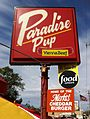 Paradise Pup (Des Plaines, Illinois) sign 01 crop.jpg