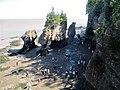 Parc Provincial Hopewell Rocks - Sea Stack - Low Tide- New Brunswick (1).jpg
