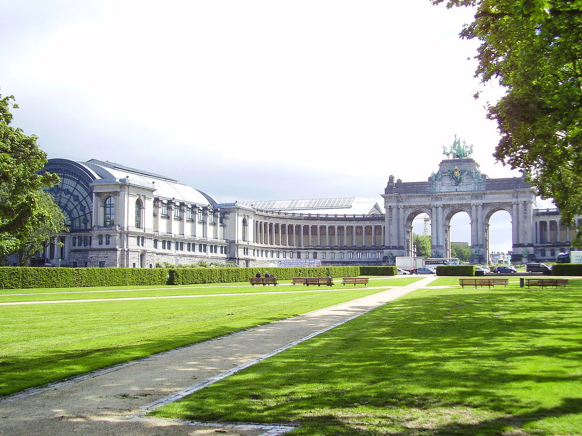 parc du cinquantenaire wikip dia. Black Bedroom Furniture Sets. Home Design Ideas