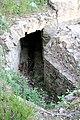 Parco di pratolino, tubature in piombo sul sito dell'antica villa.JPG