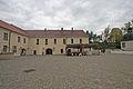 Pardubický zámek, Pardubice 1 nádvoří2.JPG