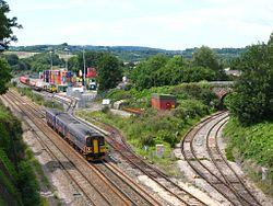 Parson Street Junction - FGW 153380 150232 (Freightliner 66504).jpg
