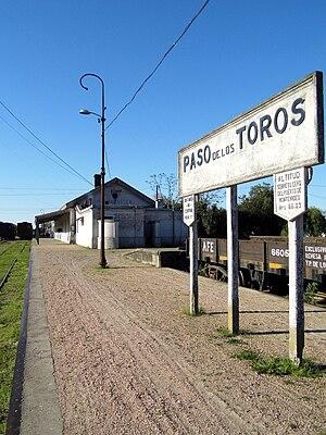 Tren de los Pueblos Libres - Paso de los Toros, terminus in Uruguay