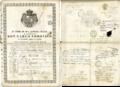 Passaporto del Ducato lucchese Carlo Lodovico di Borbone.png