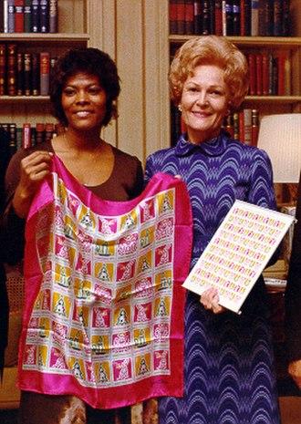 Dionne Warwick - Warwick with First Lady Pat Nixon, 1971