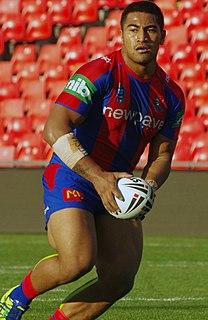 Paterika Vaivai Samoan professional rugby league & union footballer