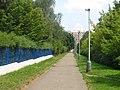 Pathway to Tererova str, Prague Chodov.jpg