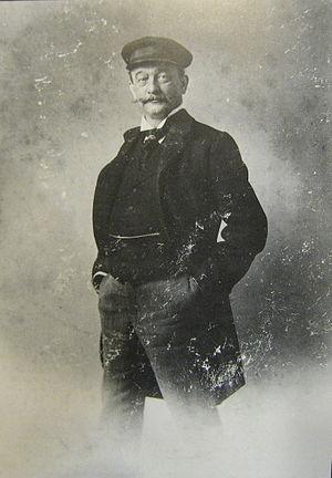 Pau Audouard - Audouard's self-portrait