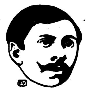 Paul Adam (French novelist) - Paul Adam, woodcut by Félix Vallotton