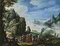 Paul Bril - Felsige Landschaft mit Heilung des Besessenen - 876 - Bavarian State Painting Collections.jpg