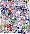 Paul Klee Kleine Landschaft mit der Dorfkirche 1925.jpg