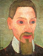 Paula Modersohn-Becker Ritratto di Rilke 1906