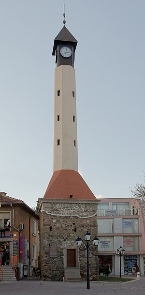 Pazardzhik - The old clock tower is one of the landmarks of Pazardzhik.