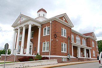 Franklin, West Virginia - Pendleton County Courthouse in Franklin