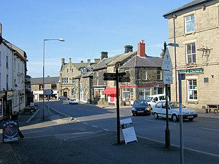 Penistone market town in the Metropolitan Borough of Barnsley, in South Yorkshire, England