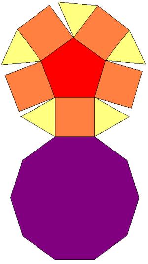 Pentagonal cupola - Image: Pentagonal Cupola