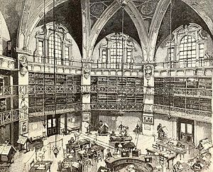 John Thomas Barber Beaumont - Image: People's Palace Reading Room